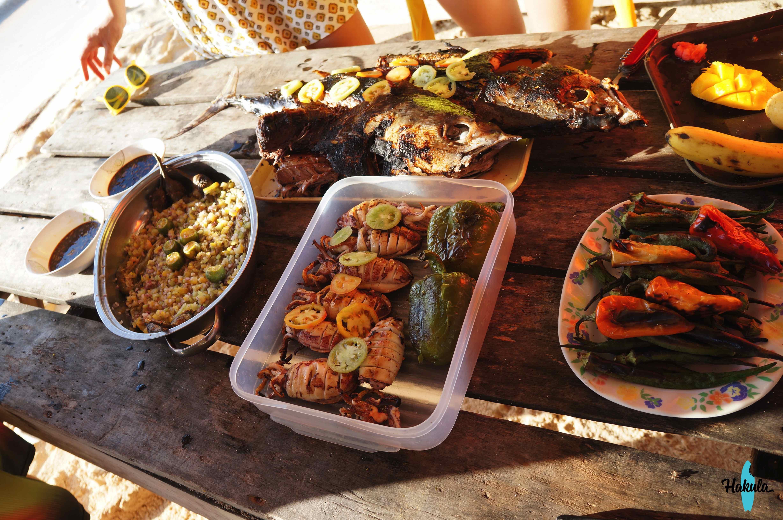 Еда на Сиаргао